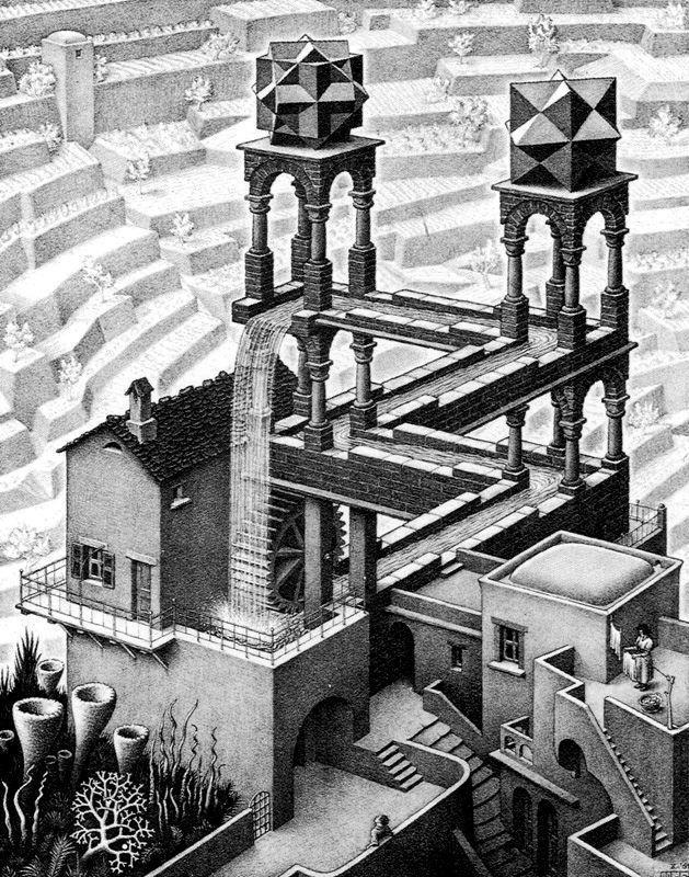 Grabado M C Escher