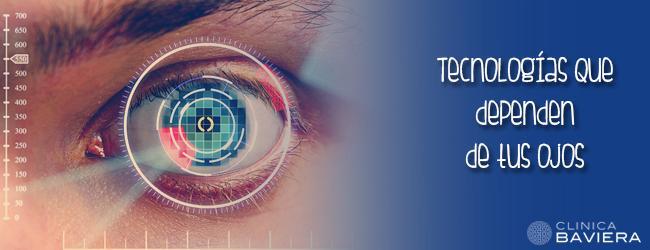 tecnología ojos