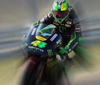 Pol Espargaró en moto con reflejo