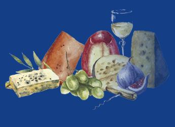 La imagen de la comida en el arte_dentro