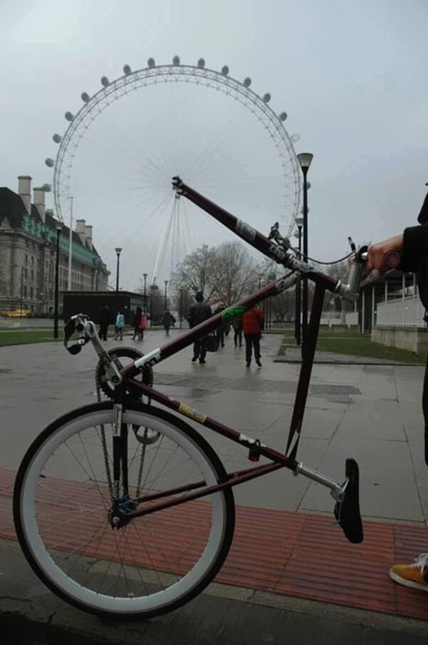 Ilusiones ópticas bici
