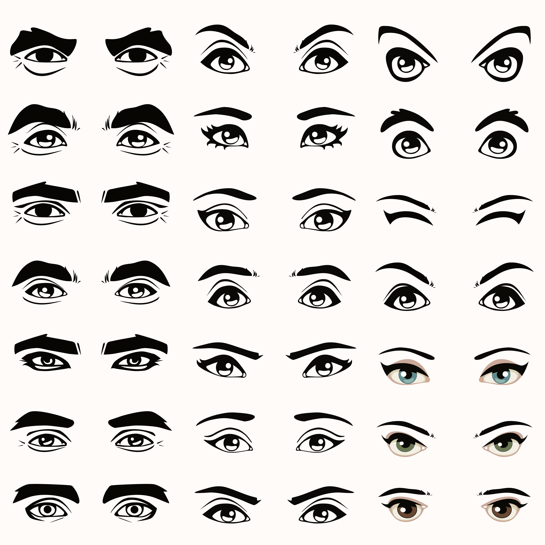 Character Design By 100 Illustrators Pdf : Tipos de ojos sus diferentes formas clínica baviera