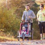 Correr en familia