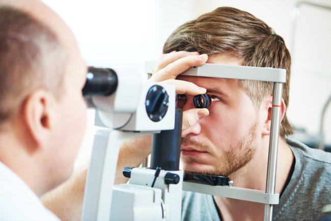 cornea inflamada
