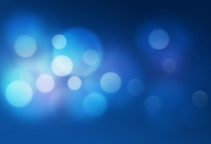 Destellos blancos sobre fondo azul