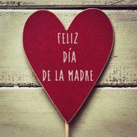 Corazón feliz día de la madre