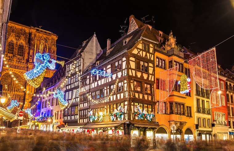Mercadillo de Estrasburgo