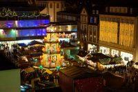 Mercadillo de Navidad en Nuremberg Alemania